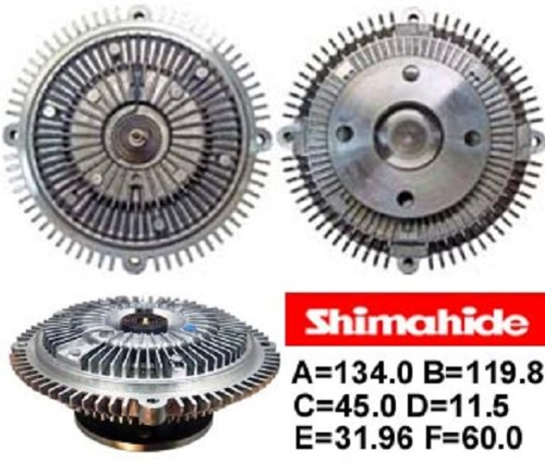 shimahide Ventilador embrague Nissan pick up -01p04: Amazon.es: Coche y moto