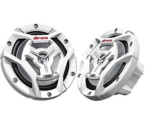 JVC CS-DR6201MW 6-1/2 Inch 2-Way Coaxial Speakers White (Sony Marine Speakers)