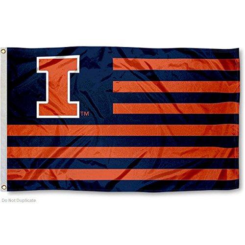 University of Illinois Fighting Illini Alumni Nation Stripes (Illinois Fighting Illini Tailgate)