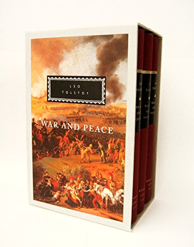 War and Peace (3 Volume Set) (People Involved In The War Of 1812)