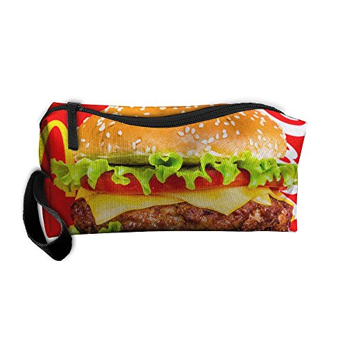 EWSDa Quarter Pounders Cosmetic Bag Unisex Multifunctional for sale  Delivered anywhere in USA