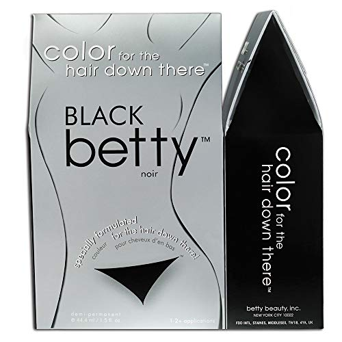 Black Betty - Color for the Hair Down There Kit (Best Way To Shave Scrotum)