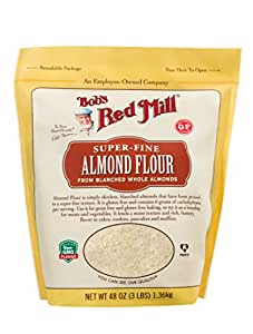 Amazon.com : Super-Fine Almond Flour (3 Pound) : Grocery