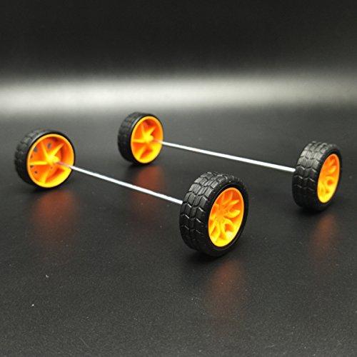 62 Kinds Gear Wheel Package Kit DIY Gear Assortment Accessory Set Toy Car