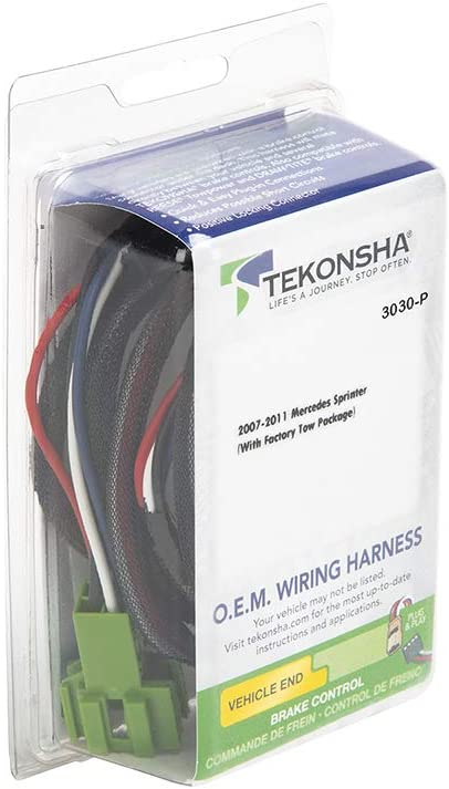 90195 Tekonsha Brake control with Wiring Harness 3030 FOR 2012-2019 Mercedes