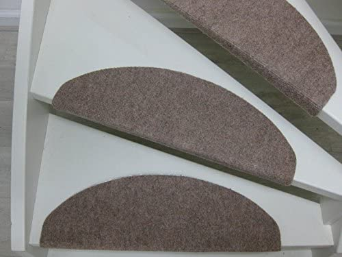Teppichwahl Borneo - Esterillas para Las escaleras (65 x 25 cm) (Beige): Amazon.es: Hogar