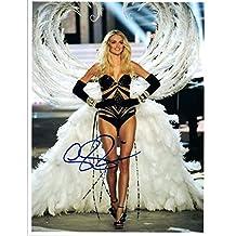 Lindsay Ellingson Signed Autograph 8x10 Photo Victoria's Secret Model COA VD