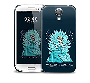 winter is coming frozen Samsung Galaxy S4 GS4 protective phone case