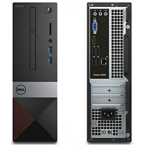 Dell Vostro 3470 Mini Tower 8th Gen Desktop Computer PC (Intel Core i3-8100, HDMI, VGA, WiFi, DVD-RW) Built Your Own Computer Upto 16GB Ram, 512GB SSD (Certified Refubished)
