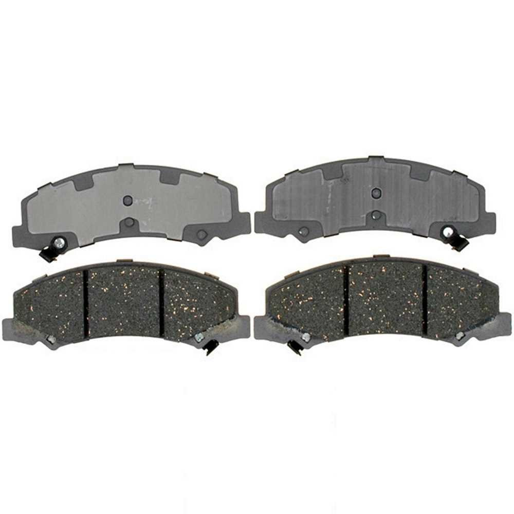 Prime Choice Auto Parts SCD1159 Front Ceramic Brake Pad Set