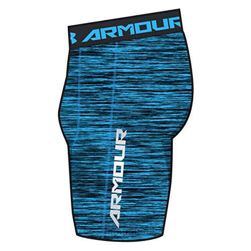 Under Armour Men's UA CoolSwitch Compression Shorts Large MERIDIAN BLUE