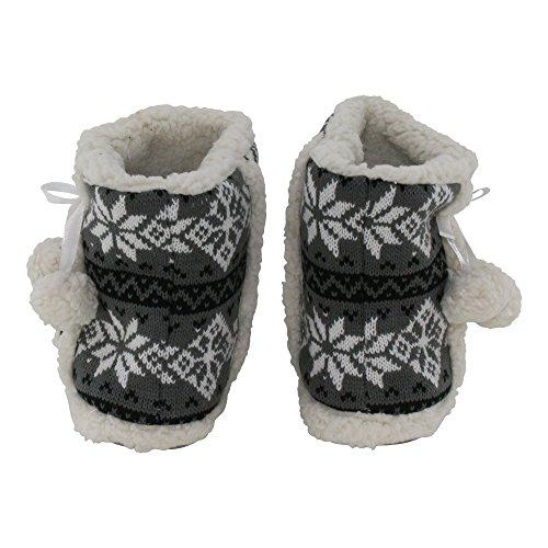 brandsseller Women's Slippers Grey 0NEUjQ