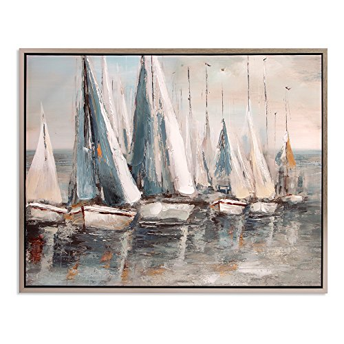 Patton Wall Decor  Painterly Sailboats Coastal