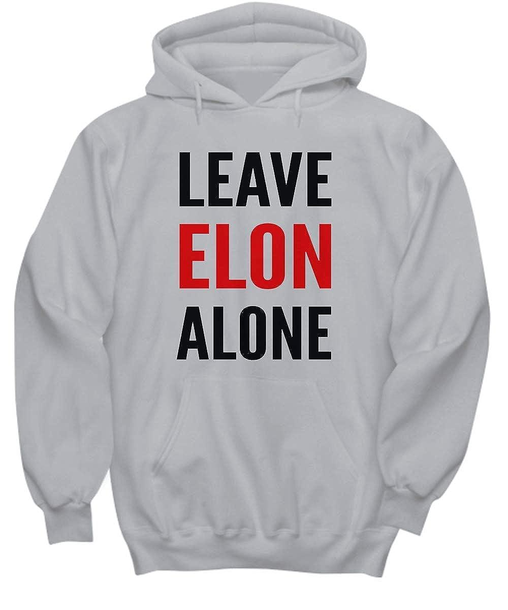 Unisex Hoodie Multiple Colors Available Leave Elon Alone LaserKing