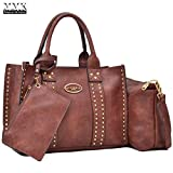 MMK collection Fashion Handbag~Bamboo handle Handbag for Women` Signature fashion Designer Purse~ Beautiful Designer Purse & Women Satchel Purse