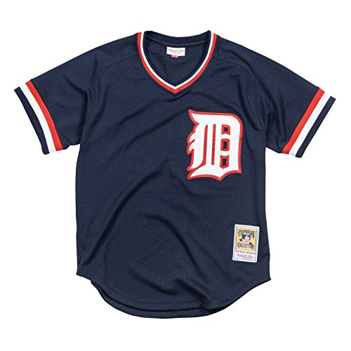 Mitchell & Ness Jack Morris Detroit Tigers MLB Authentic 1984 BP Jersey