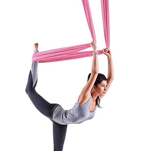 Hamaca de Yoga antigravedad para Yoga o Yoga: Amazon.es: Hogar