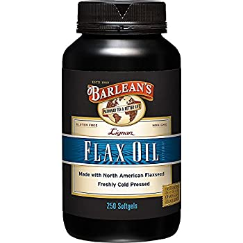 Barleans Lignan Flax Oil, 1000 mg ea, 250 Count