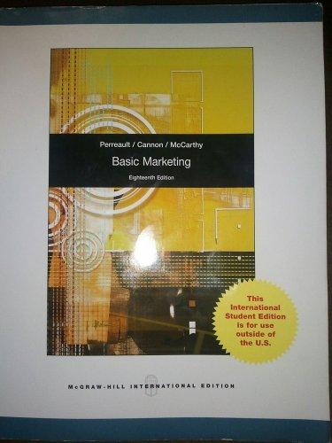 Basic Marketing, 18E