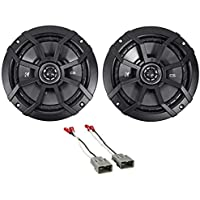 1996-1998 Honda Civic 6.5 Kicker Factory Door Speaker Replacement Kit