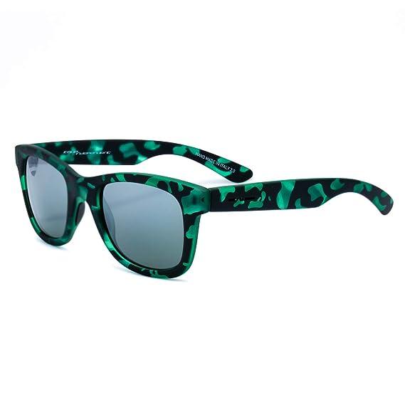 italia independent 0090-152-000 Gafas de sol, Verde, 50 para ...