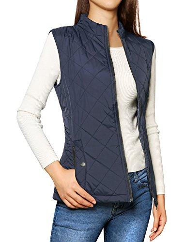 allegra-k-woman-zippered-pockets-stand-collar-quilted-padded-vest-m-dark-blue