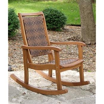 Amazoncom Tortuga Outdoor MAR RC Maracay Rocking Chair Patio