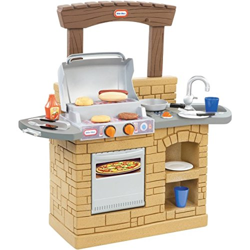 Barbeque Pretend Playset for Children - 7