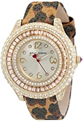 Betsey Johnson Women's BJ00432-08 Gold Watch