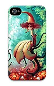 3D Hard Plastic Case for iphone 6 4.7 G,Cute Little Fairy Case Back Cover for iphone 6 4.7