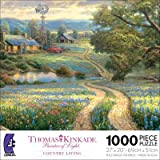 Ceaco Thomas Kinkade Country Living 1000 Piece Jigsaw Puzzle