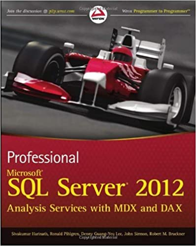 Lire des livres en ligne gratuits sans télécharger des livres completsProfessional Microsoft SQL Server 2012 Analysis Services with MDX and DAX (Wrox Programmer to Programmer) by Sivakumar Harinath (28-Sep-2012) Paperback PDF MOBI
