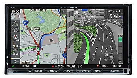 Bluetooth フルセグ/ SD/ 三菱電機 NR-MZ200 CD/ USB/ メモリーカーナビ7V型WVGAモニター SOUND NAVI ダイアトーンサウンドナビDIATONE ワンセグDVD/
