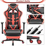 Homall Ergonomic High-Back Racing Chair | Leather