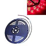 Yolu 1pcs 5 Meter Waterproof LED Strip Lights Kits 300SMD 3528 White+Red