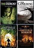 For God's Sake Get Out! The Haunted Horror Movie Pack Amytyville Original & Remake + The Conjuring & The Exorcist 4 DVD Film Set