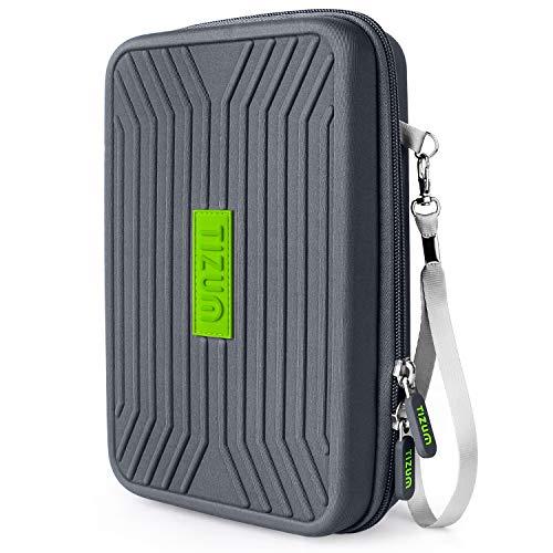 Tizum Portable EVA Universal Electronic Travel Gadgets  amp; Accessories Organizer Multipurpose Pouch, Rugged Travel Friendly  Gray