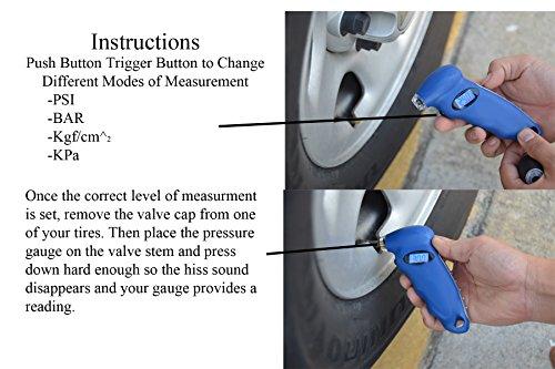 Chevy Digital Tire Gauge