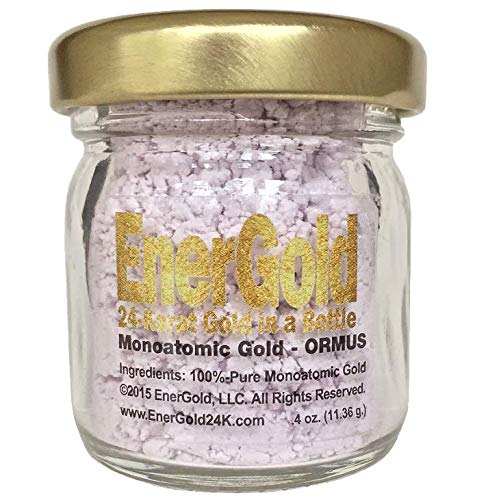 EnerGold® World's ONLY Pure-Gold-Based M-State Monoatomic Gold/ORMUS! No Salt, Dyes, or Fillers!