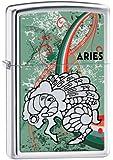 Zippo Zodiac Aries High Polish Chrome Lighter