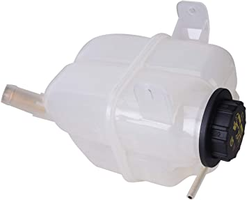 TOPAZ Engine Coolant Recovery Expansion Tank w// cap for Audi A4 Quattro 02-06