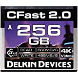 Delkin 256GB Cinema CFast 2.0 Memory Card (DDCFST560256)