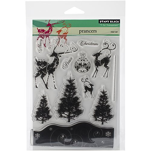 Penny Black 30-258 Decorative Rubber Stamps,