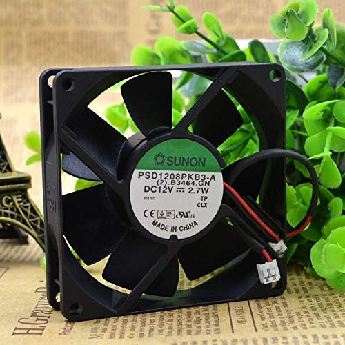 FOR SUNON stablish 8025 chassis server cooling fan 12V 2.7W PSD1208PKB3-A double ball