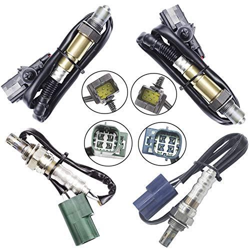 4 Oxygen sensor for 2005-2006 Nissan Pathfinder 4.0L Upstream + Downstream 4l Oxygen O2 Sensor