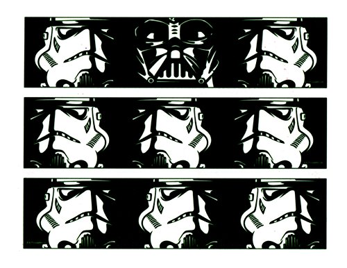 Price comparison product image Whimsical Practicality Star Wars Darth Vader & Storm Trooper Cake Strips
