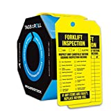 Accuform Signs TAR704 Tags By-The-Roll Inspection and Status Tags, Legend