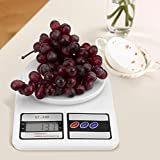 Digital Kitchen Scale Food Scale Accurate Multifunction Auto Off Cooking Scale with LCD Display, Max Weight 10kg,353oz for Baking Cooking (No Batteries)