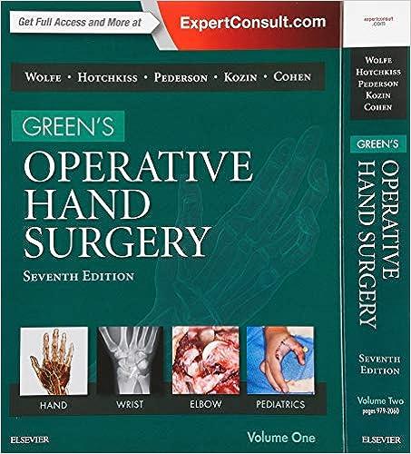 Green's Operative Hand Surgery, 2-volume Set, 7e por Scott W. Wolfe Md