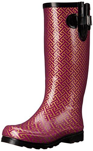 Boot Berry Nomad Women's Hatch Puddles Gold Rain Rnn7AOWq